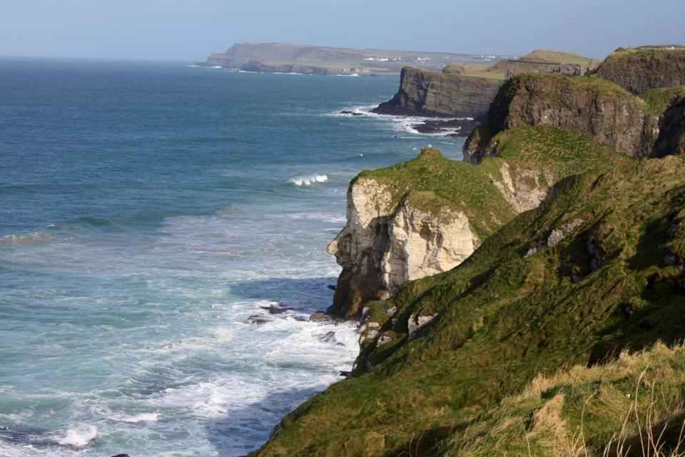 Causeway Coastal Route on Northern Ireland's northern-most coast.